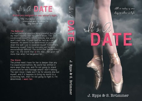It's A Date FINAL COVER JACKET!!