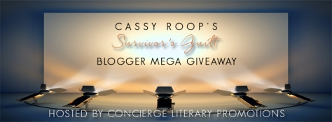 Survivor's Guilt Blogger Giveaway Banner