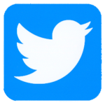 Twitter Logo Isolated