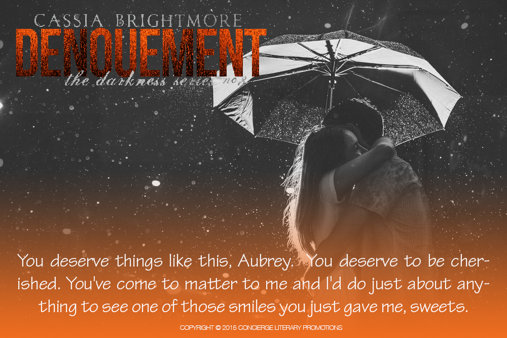 Denouement - one of those smiles