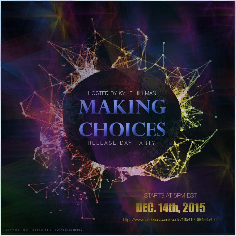Making Choices - Release Party Graphic